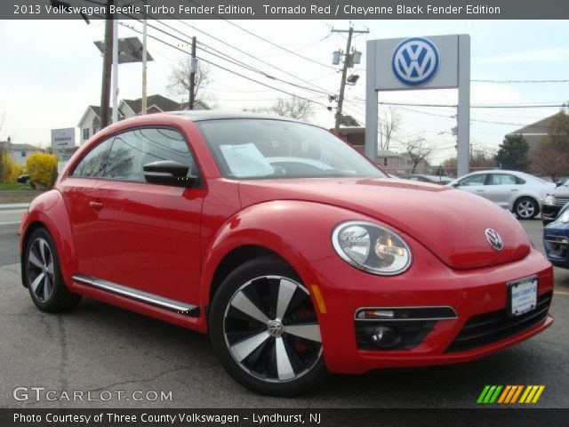 Tornado Red 2013 Volkswagen Beetle Turbo Fender Edition Cheyenne