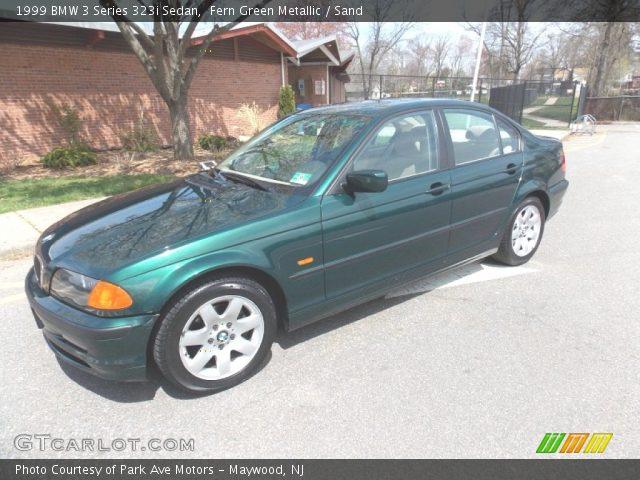 1999 BMW 3 Series 323i Sedan in Fern Green Metallic