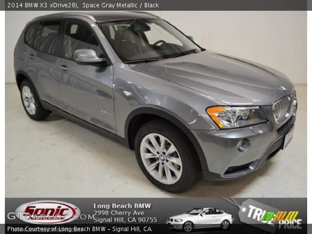 Space Gray Metallic 2014 Bmw X3 Xdrive28i Black Interior Vehicle Archive