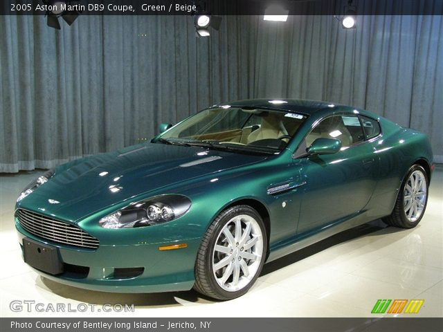 Green 2005 Aston Martin Db9 Coupe Beige Interior