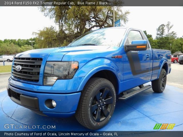 blue flame 2014 ford f150 fx2 tremor regular cab black. Black Bedroom Furniture Sets. Home Design Ideas