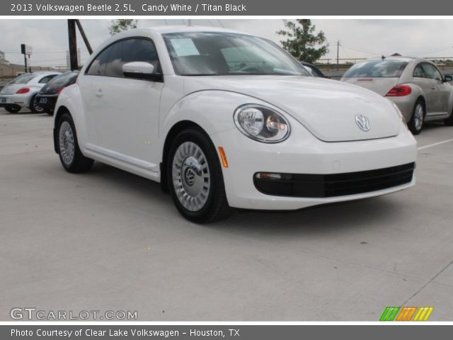 candy white 2013 volkswagen beetle 2 5l titan black. Black Bedroom Furniture Sets. Home Design Ideas