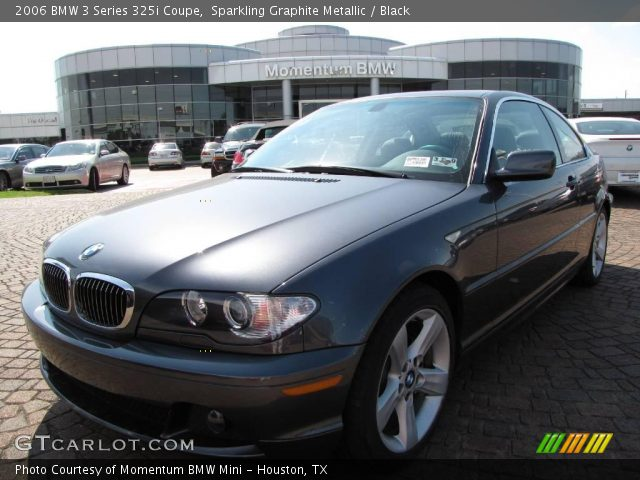 sparkling graphite metallic 2006 bmw 3 series 325i coupe. Black Bedroom Furniture Sets. Home Design Ideas
