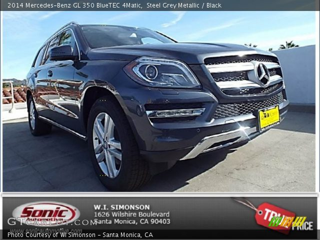 Steel grey metallic 2014 mercedes benz gl 350 bluetec for 2014 mercedes benz gl350 bluetec 4matic