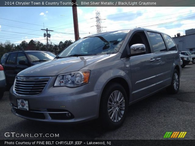 billet silver metallic 2014 chrysler town country. Black Bedroom Furniture Sets. Home Design Ideas