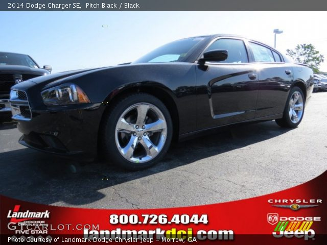 pitch black 2014 dodge charger se black interior vehicle archive 93161545. Black Bedroom Furniture Sets. Home Design Ideas