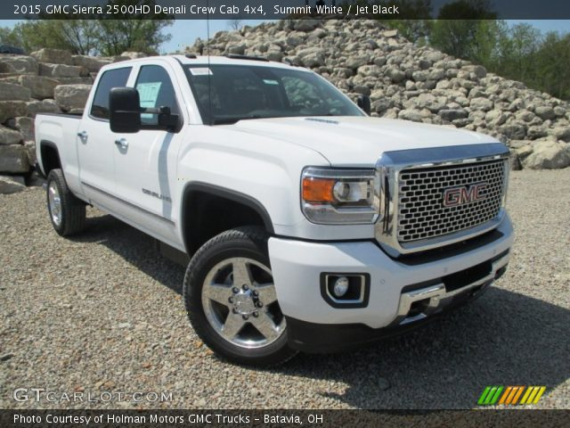 2015 GMC Sierra 2500HD Denali Crew Cab 4x4 in Summit White