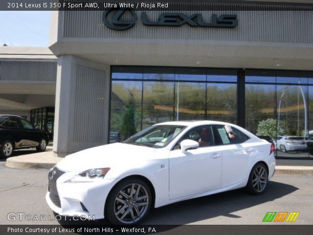 ultra white 2014 lexus is 350 f sport awd rioja red. Black Bedroom Furniture Sets. Home Design Ideas