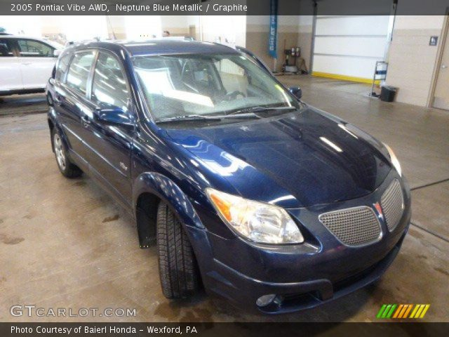 2005 Pontiac Vibe AWD in Neptune Blue Metallic