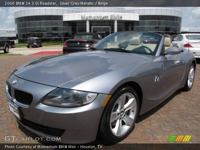 silver grey metallic 2006 bmw z4 roadster beige. Black Bedroom Furniture Sets. Home Design Ideas