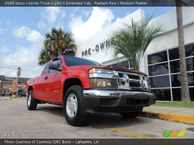 2008 Isuzu i-Series Truck i-290 S Extended Cab in Radiant Red