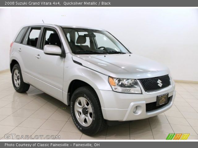 2008 Suzuki Grand Vitara 4x4 in Quicksilver Metallic