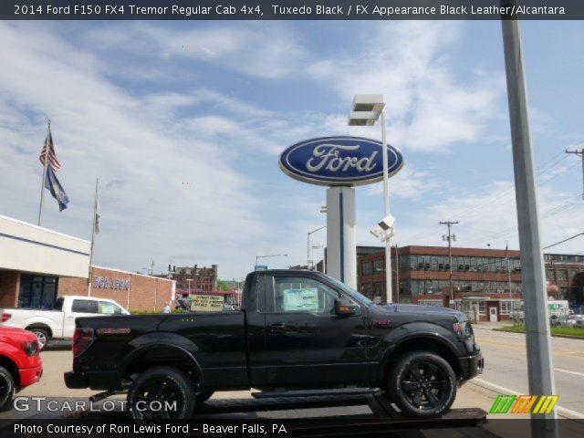 2014 Ford F150 FX4 Tremor Regular Cab 4x4 in Tuxedo Black
