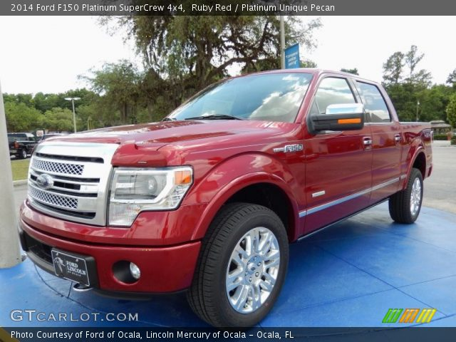 ruby red 2014 ford f150 platinum supercrew 4x4. Black Bedroom Furniture Sets. Home Design Ideas