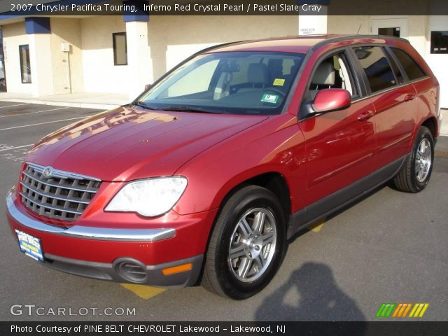 inferno red crystal pearl 2007 chrysler pacifica touring. Black Bedroom Furniture Sets. Home Design Ideas