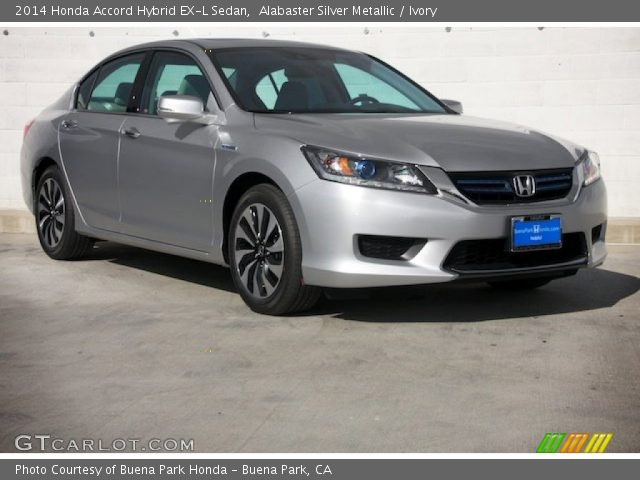2014 Honda Accord Hybrid EX-L Sedan in Alabaster Silver Metallic