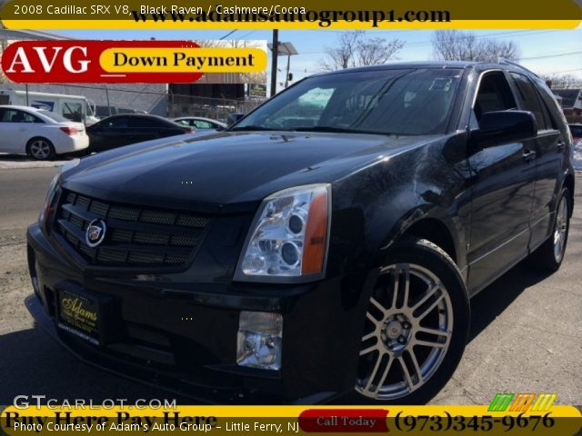 2008 Cadillac SRX V8 in Black Raven