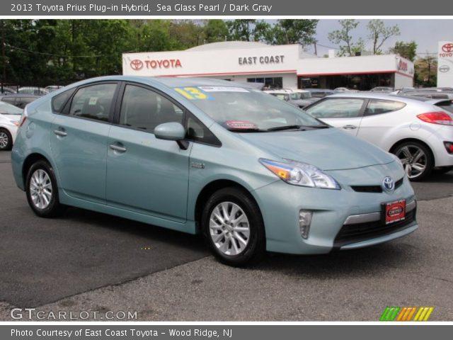 2013 Toyota Prius Plug-in Hybrid in Sea Glass Pearl