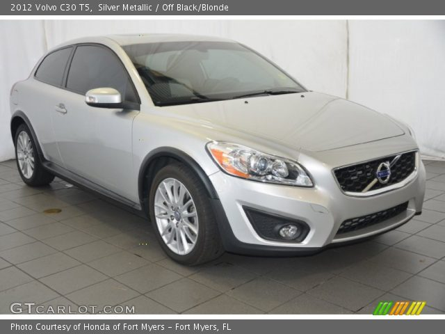 2012 Volvo C30 T5 in Silver Metallic