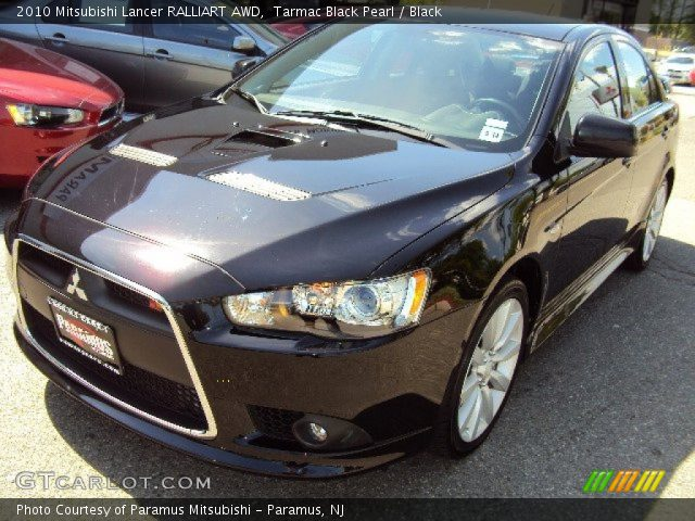 tarmac black pearl 2010 mitsubishi lancer ralliart awd. Black Bedroom Furniture Sets. Home Design Ideas