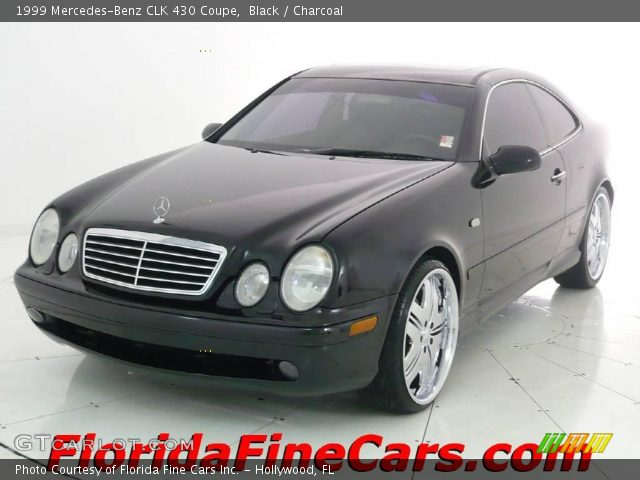 Black 1999 mercedes benz clk 430 coupe charcoal for 1999 mercedes benz clk 430