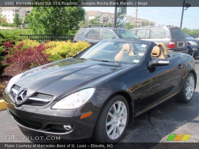 designo mocha black metallic 2005 mercedes benz slk 350. Black Bedroom Furniture Sets. Home Design Ideas