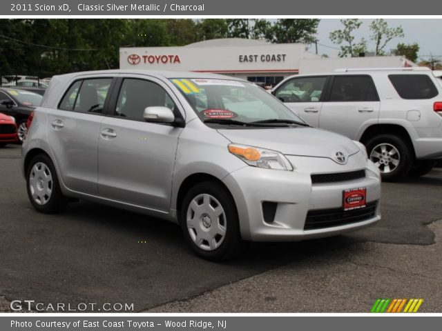 2011 Scion xD  in Classic Silver Metallic