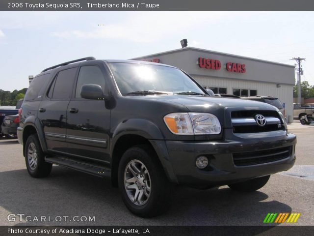 timberland mica 2006 toyota sequoia sr5 taupe interior vehicle archive 9332573. Black Bedroom Furniture Sets. Home Design Ideas