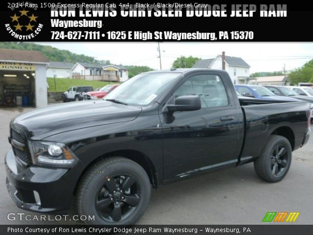 2014 Ram 1500 Express Regular Cab 4x4 in Black