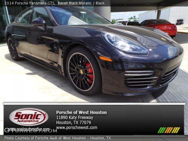 2014 Porsche Panamera GTS in Basalt Black Metallic