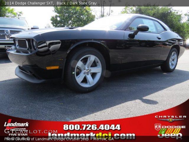 Black - 2014 Dodge Challenger SXT - Dark Slate Gray ...  Black - 2014 Do...