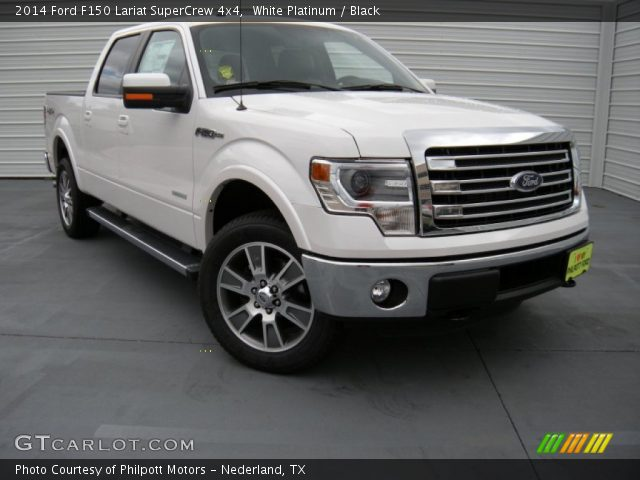 white platinum 2014 ford f150 lariat supercrew 4x4. Black Bedroom Furniture Sets. Home Design Ideas