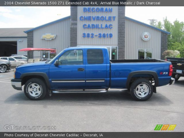 arrival blue metallic 2004 chevrolet silverado 1500 z71. Black Bedroom Furniture Sets. Home Design Ideas