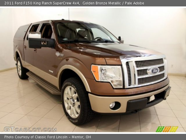2011 Ford F150 King Ranch SuperCrew 4x4 in Golden Bronze Metallic