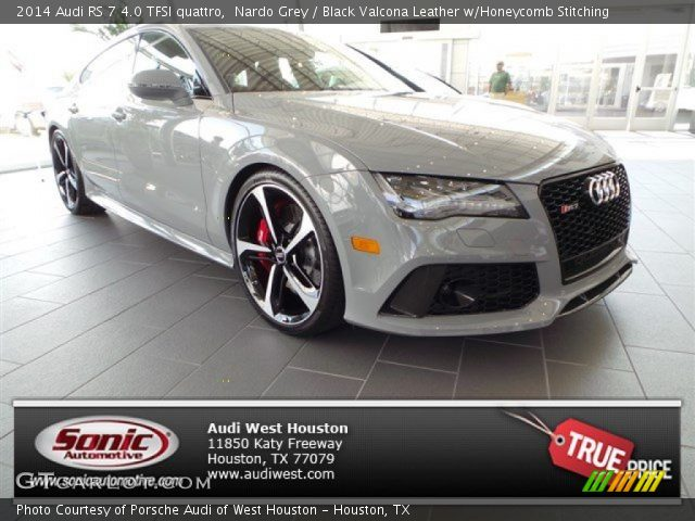 2014 Audi RS 7 4.0 TFSI quattro in Nardo Grey