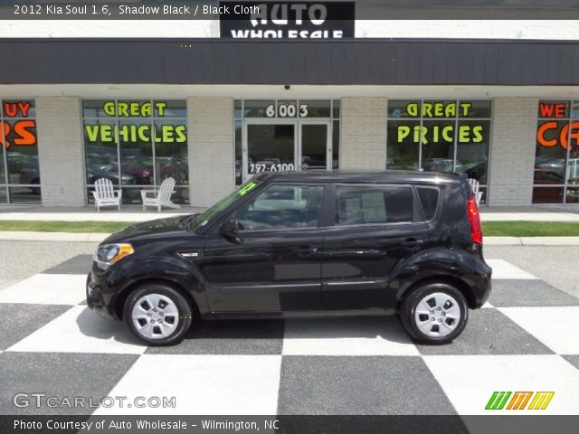 Shadow black 2012 kia soul 1 6 black cloth interior vehicle archive 94090462 2012 kia soul exterior colors