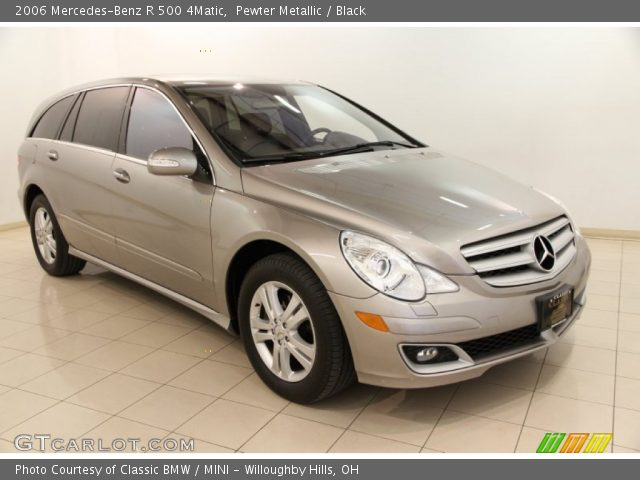 2006 Mercedes-Benz R 500 4Matic in Pewter Metallic