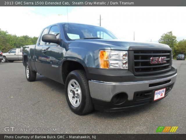 2013 GMC Sierra 1500 Extended Cab in Stealth Gray Metallic
