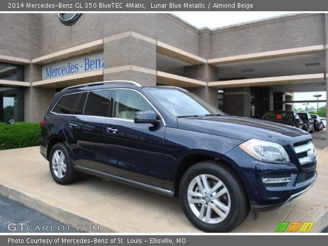 lunar blue metallic 2014 mercedes benz gl 350 bluetec. Black Bedroom Furniture Sets. Home Design Ideas