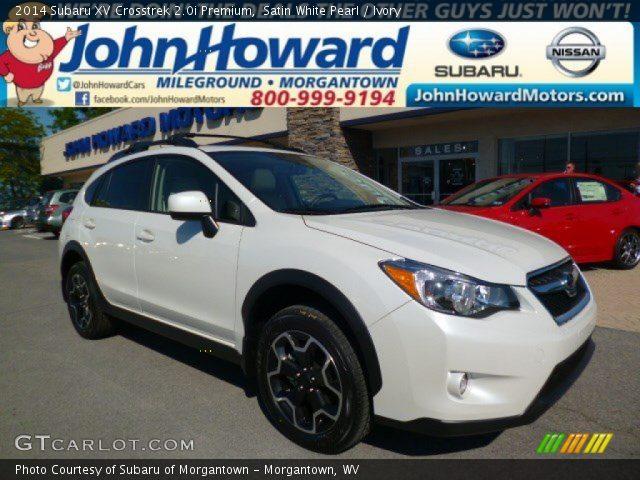 New Motors Subaru Erie Pa >> 2013 Subaru Xv Crosstrek 20 Premium In Satin White Pearl ...