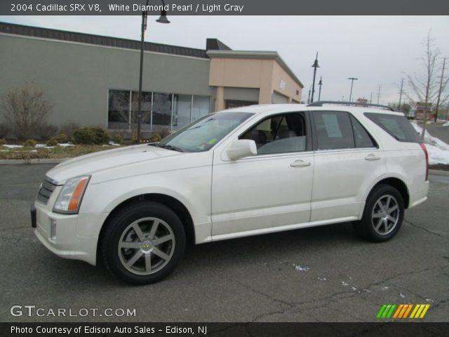 2004 Cadillac SRX V8 in White Diamond Pearl