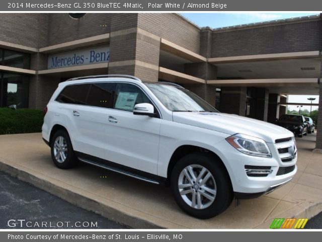 polar white 2014 mercedes benz gl 350 bluetec 4matic. Black Bedroom Furniture Sets. Home Design Ideas