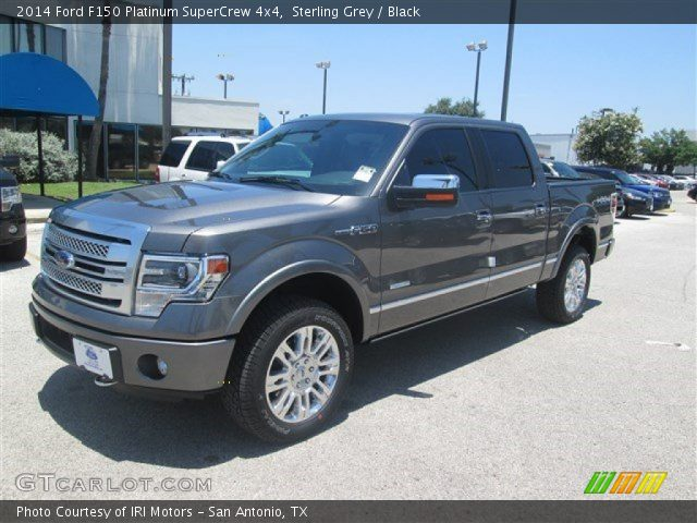 sterling grey 2014 ford f150 platinum supercrew 4x4. Black Bedroom Furniture Sets. Home Design Ideas