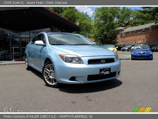 2006 Scion tC  in Azure Pearl