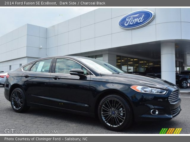 dark side 2014 ford fusion se ecoboost charcoal black interior vehicle. Black Bedroom Furniture Sets. Home Design Ideas
