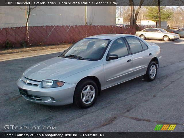 ultra silver metallic 2005 chevrolet cavalier sedan with graphite gray. Cars Review. Best American Auto & Cars Review