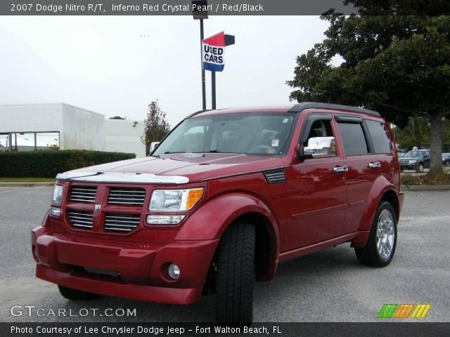 inferno red crystal pearl 2007 dodge nitro r t red. Black Bedroom Furniture Sets. Home Design Ideas