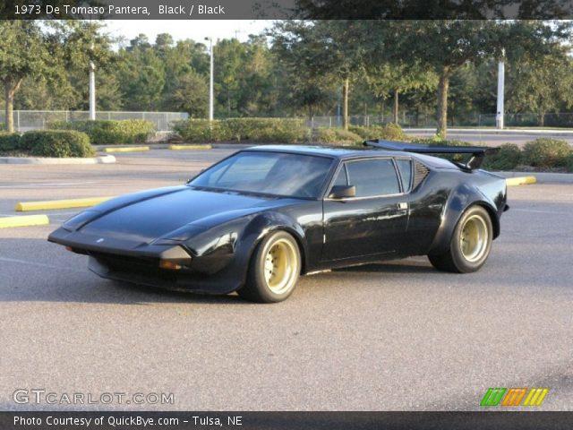 1973 De Tomaso Pantera  in Black