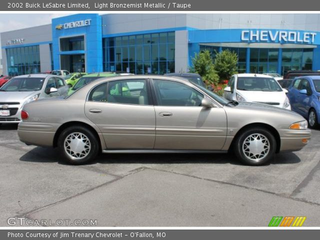 2002 Buick LeSabre Limited in Light Bronzemist Metallic