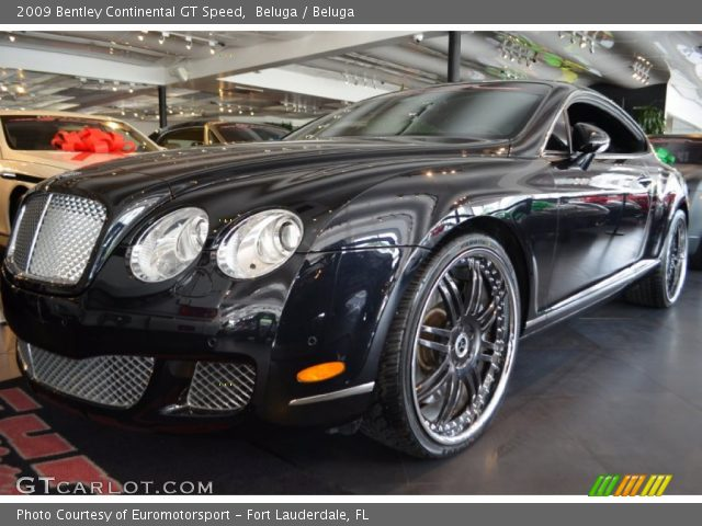 2009 Bentley Continental GT Speed in Beluga